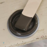 chocolate_brown_vintage paint_vernici_shabby