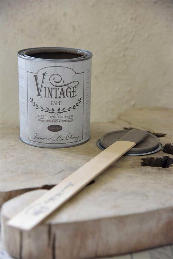 Vintage Chalk Paint Dark Powder vernici shabby