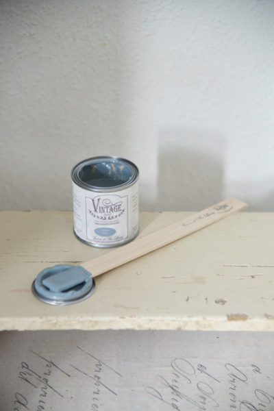 vintage chalk paint ocean blue