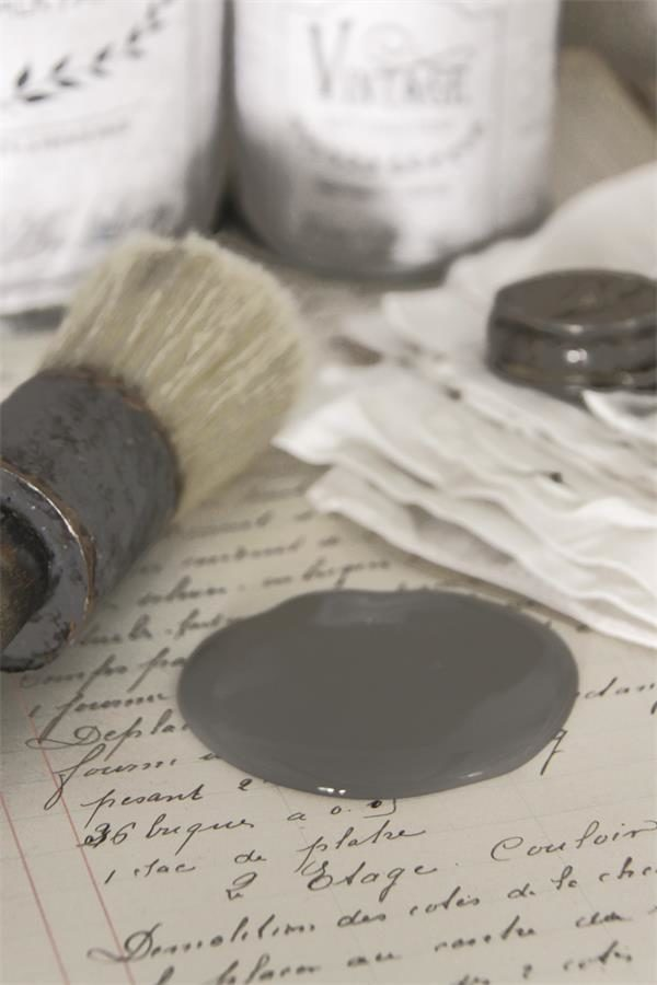 french gray vintage paint