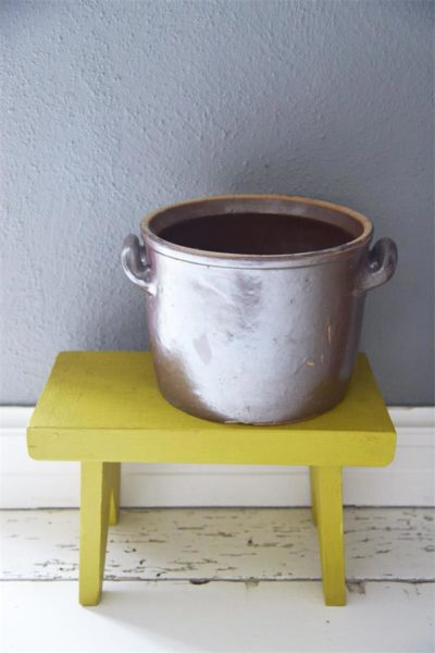 vintage chalk paint warm yellow primario vernici shabby