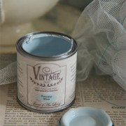 vintage paint powder blue vernici shabby