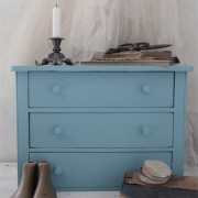 vintage paint dusty blue vernici shabby
