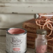 vintage paint dusty rose vernici shabby