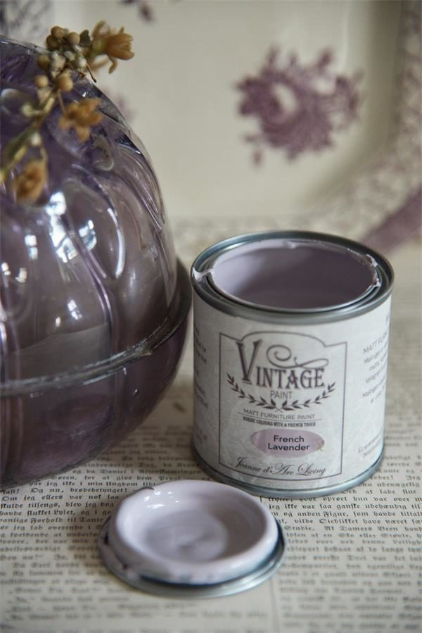 vintage paint french lavender vernici shabby