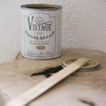 vintage chalk paint antique sand vernici shabby