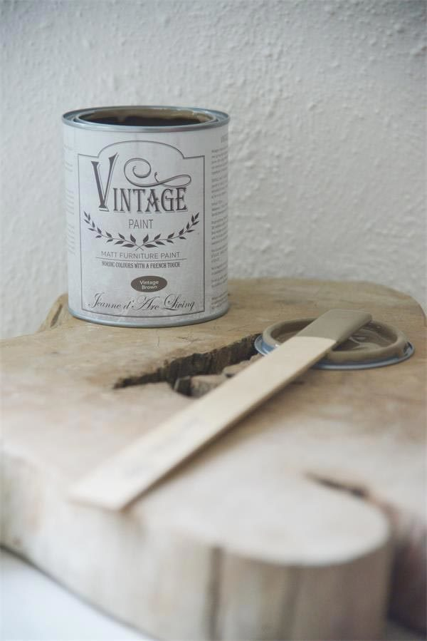 vintage chalk paint vintage brown vernici shabby
