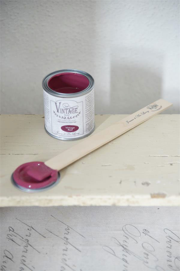 Vintage Chalk Paint Vintage Red vernici shabby chalk paint