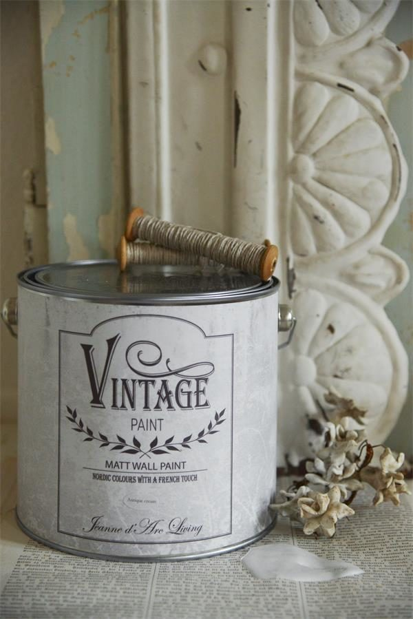 vintage paint antique cream vernici shabby