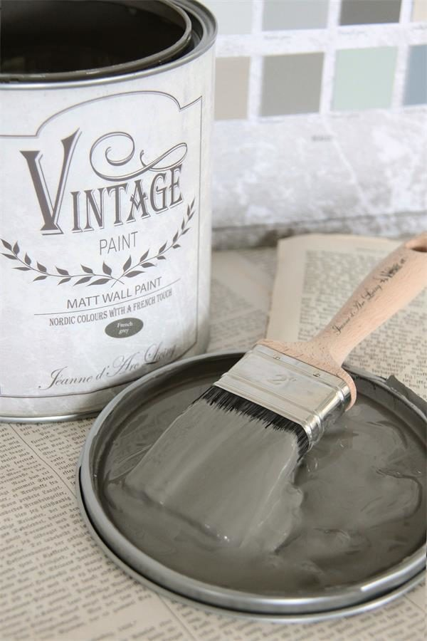 vintage paint per muro french grey vernici shabby