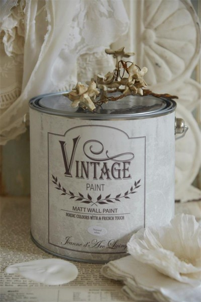 vintage paint natural white vernici shabby