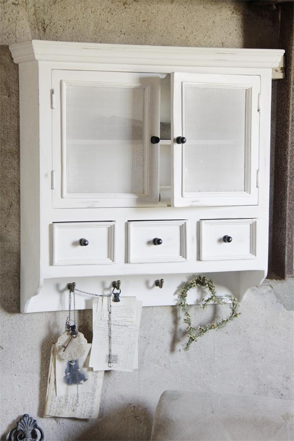 Pensile cucina shabby chic vernici shabby for Shabby chic cucina
