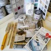 vintage paint kit di apprendimento