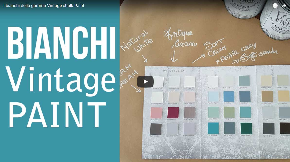 Viantage Chalk Paint Tutorial