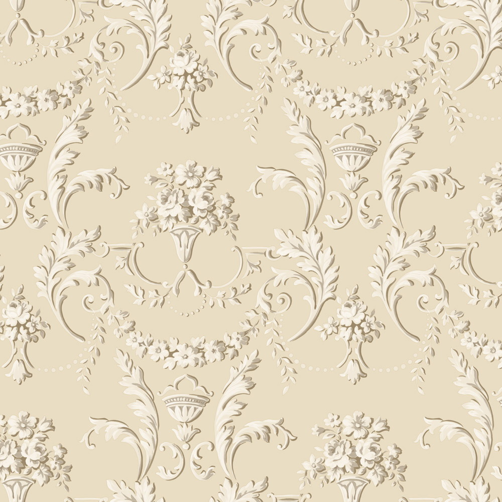 Carta da parati luxury gold beige vernici shabby for Carta da parati trussardi