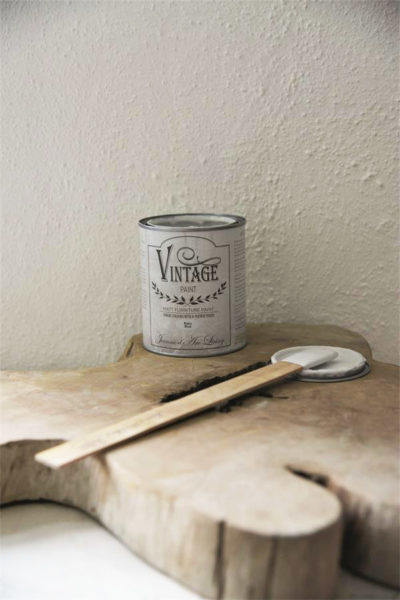 vintage chalk paint baby blue