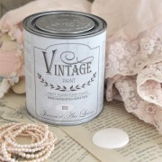 vintage paint baby rose