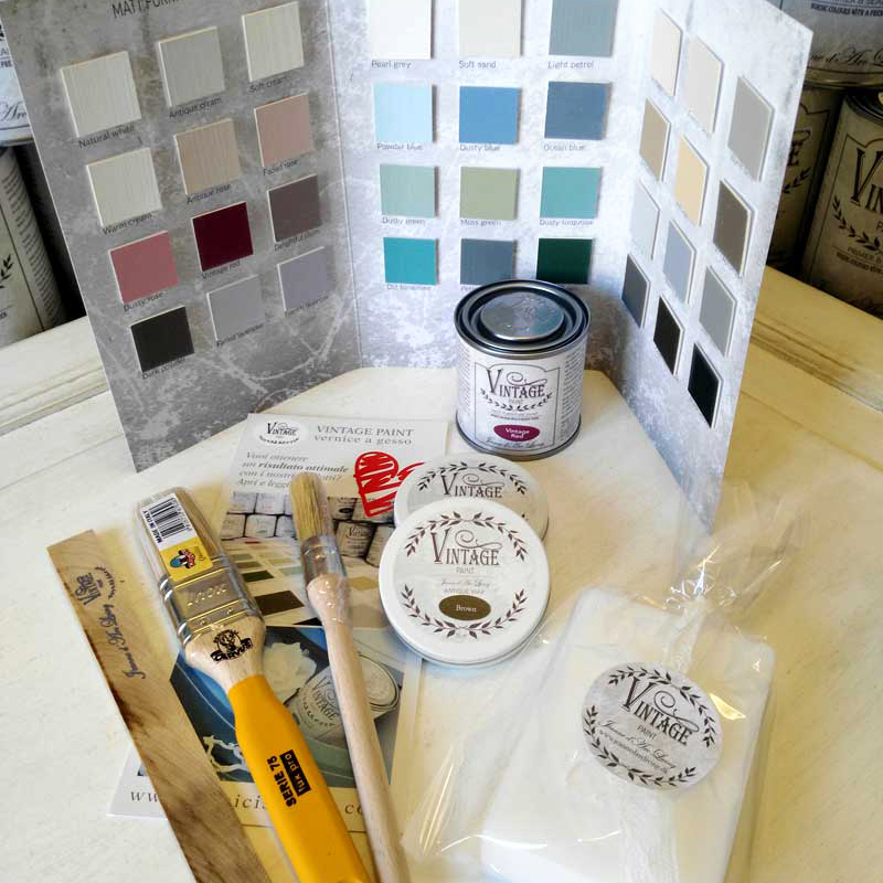 kit medium vintage paint