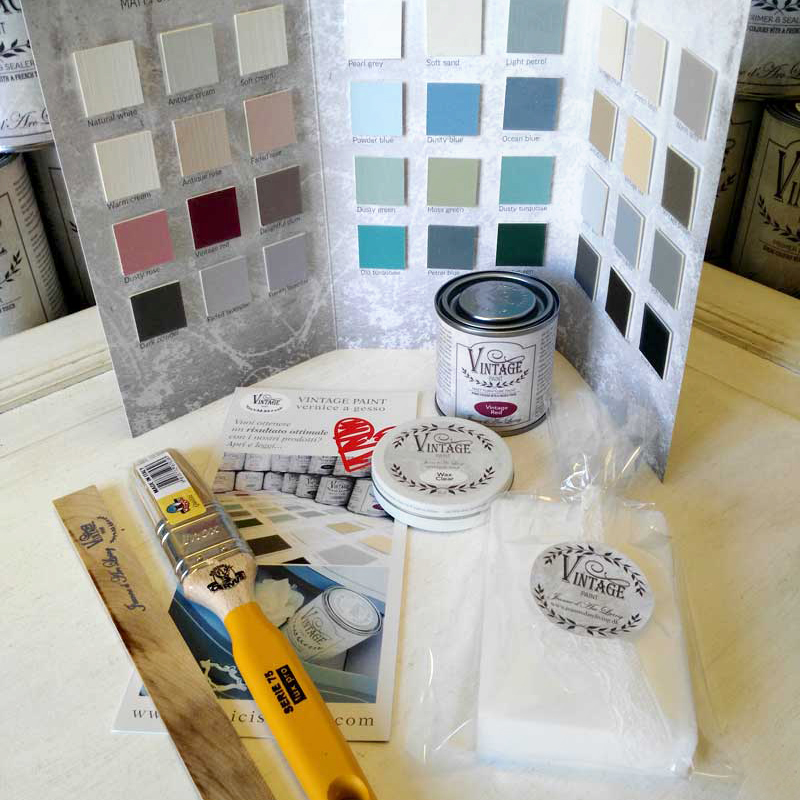 kit mini vintage paint