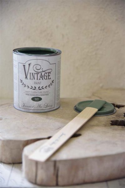 vintage Chalk Paint Dusty Olive VERNICI SHABBY