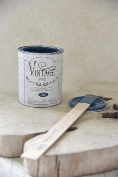 vintage Paint Royal Blue vernici shabby chalk paint