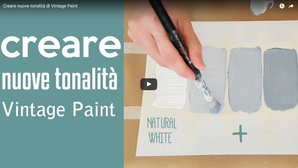 Vintage Chalk Paint Tutorial