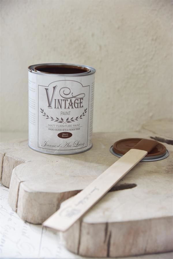 vintage Chalk Paint Warm Brown vernici shabby