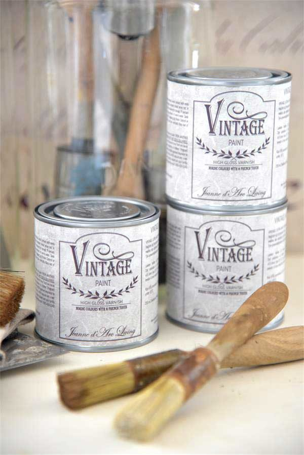 Vintage Paint SHINY GLOSS Sigillante Extra Resistente Lucido
