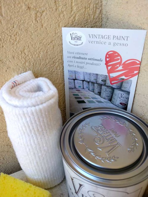 Kit shabby chic pronto all'uso Vintage Paint