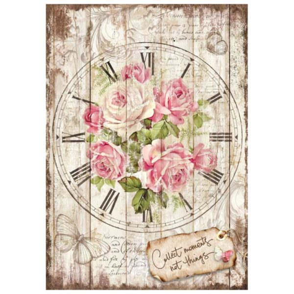 Sweet time orologio vernici shabby