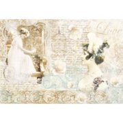 Carta di riso per decoupage 33 x 48 Romantic