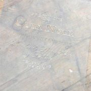 Stencil Vintage Paint Cuir Noir vernici shabby
