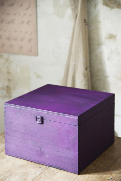 Vintage Chalk Paint Dark Purple vernici shabby