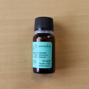 cannabis fragranza essenziale profumata 10 ml vernici shabby