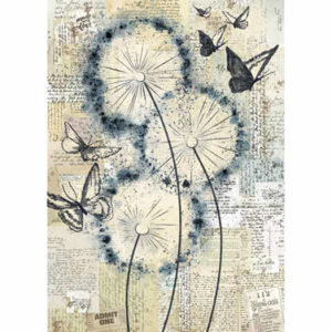 Carta di riso per decoupage Blowing in the Wind