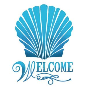 Stamperia Stencil piccolo Welcome KSD267